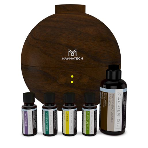 Essential Oils Kit - 5 Piece Coconut + Diffuser